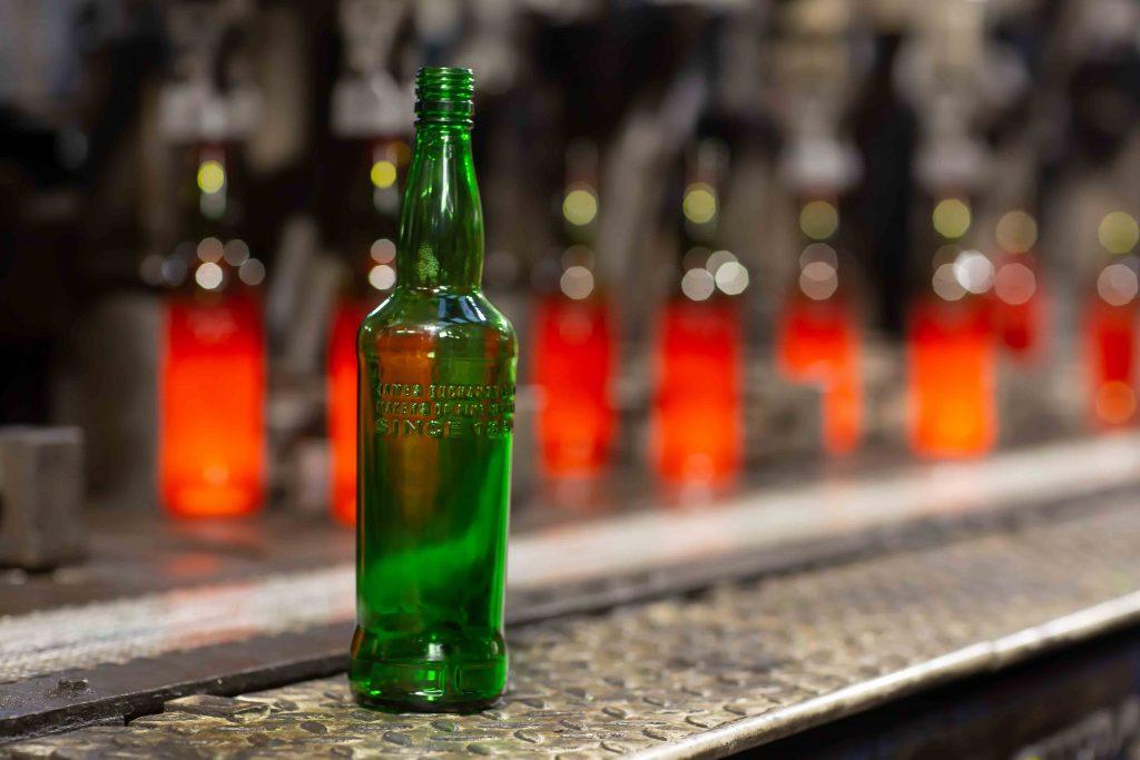 Diageo Sustainable Glass Scotch Bottle
